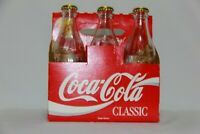 Coca Cola Canada Safeway 60th Anniversary 6 Pack Clear Glass Soda Pop Bottle's W