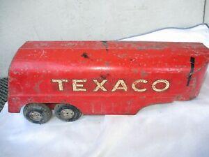 Vintage Buddy L Texaco Tanker Semi Truck Trailer