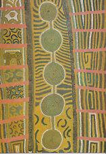 Stumpy Brown Klappkarte Aboriginal Art Boughshed No.5