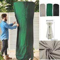 225x82cm Outdoor Vinyl Mushroom Type Waterproof Dustproof Patio Heater Cover US