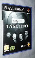 Singstar Take That playstation 2 game. Complete with the manual pegida 12