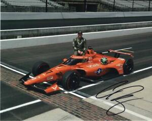 Conor Daly autographed 2020 Indy 500 8x10 photo
