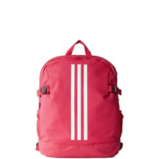 adidas pink 3 Stripe Power Casual, Daily Sports Bag Backpack CF2031