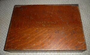 Oak Cased Pre War Meccano No.5 Construction Set