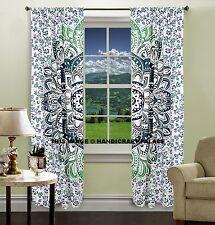 Mandala Ombre Indischen Fenster Vorhang zu Werfen Baumwolle Vorhang Hippie Kunst