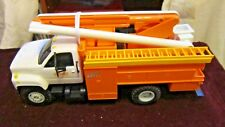 DG PRODUCTIONS NYSEG ENERGY- GMC TOPKICK UTILITY BUCKET TRUCK BANK w/Box