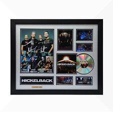 Nickelback Signed & Framed Memorabilia - 1CD - Silver/Black Edition -  NEW