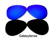 Galaxy Replacement Lenses For Oakley Crosshair New 2012 Black&Blue Polarized