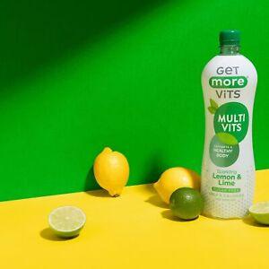 Multi Vitamin Drink Lemon & Lime 12x1Litre by Get More Vits