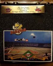 Texas Rangers Cowboy Hat on Baseball Pin MLB