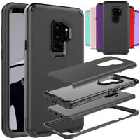 Shockproof PC Front Bumper Protective Cover Case For Samsung Galaxy S9 / S9 Plus