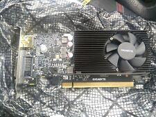 GIGABYTE NVIDIA GeForce GT1030 GDDR5 Low Profile 2GB Graphics Card GV-N1030D5-2G