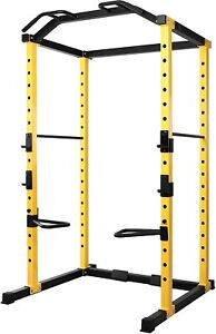 Power Rack Adjustable Squat Cage Pull Ups Dips - PowerGym