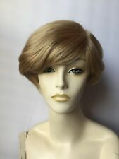 Revlon Wig, Short Stylish Cut, Blonde Color #26R (Sandstone) with Bangs