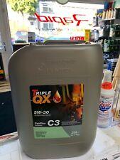Triple QX 5w-30 Fully Synthetic Engine Oil 20L Litre VW BMW LL04 C3 GM Dexos2