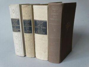 Joseph und seine Brüder - Thomas Mann - Novelle Ägypten Bibel 4 Bnde - EA 1933