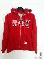 Redgreen Kapuzenjacke in Gr. L, rot, Hoddie, homewear, sportswear, Freizeitmode