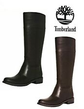 TIMBERLAND VENICE PARK TALL RRP £180 LEATHER KNEE HIGH BOOTS WIDE WOMENS LADIES
