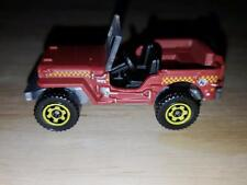 New Loose 2013 Matchbox Jeep Willy's Reddish Brown from 5 Pack