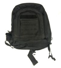 SOC Gear Bugout Bag #5016 Poly Canvas Black Military Backpack Camping Hiking EUC