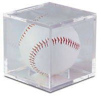 Baseball Clear Square UV Holder They Are Archival Safe And Stack Able