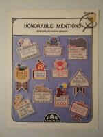 Honorable Mentions Perforated Paper Awards Book 38 Counted Cross Stitch