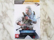 The Witcher 3 III Wild Hunt Hearts of Stone Pack Version Française PC NEUF
