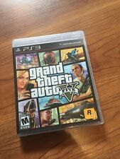 Playstation 3 PS3 Grand Theft Auto V Complete With Map Excellent