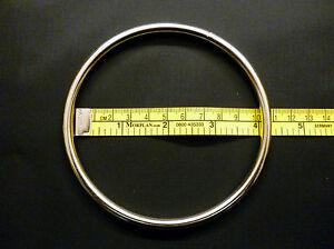 Metal Ring, Welded, 10cm / 4inch Internal Diameter,
