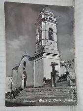 Vecchia cartolina foto d epoca di DOLIANOVA PROVINCIA CAGLIARI CHIESA S. BIAGIO