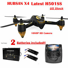 Hubsan X4 H501S S FPV RC Quadcopter Brushless 1080P GPS Drone RTF,2 Batteries