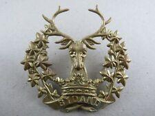 Military Badge The Gordon Highlanders British Army Infantry Scotland