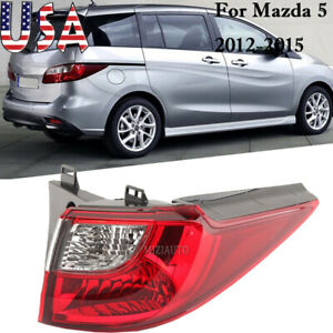 Rear Tail Light For Mazda 5 2012 2013 14 2015 Right Side Outer Brake Stop Lamp