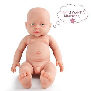 16 Inch  Full Silicone Baby Doll , Not Vinyl Dolls,Real Realstic Reborn