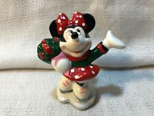 Walt Disney Mickey & Co Wonderful Winterland Minnie Mouse Skates Figurine 653047