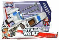 Disney Playskool Heroes To - Star Wars Galactic Heroes - Poe's X-Wing Fighter
