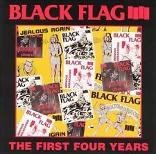 The First Four Years by Black Flag (Punk) (CD, Oct-1990, SST)