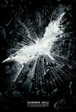 Justice League THE DARK KNIGHT RISES - Orig 2S Movie Poster BATMAN