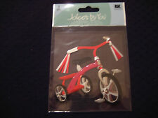 """Jolee's By You """"Tricycle"""" Bike- 1 pcs Dimensional Sticker #V5"""