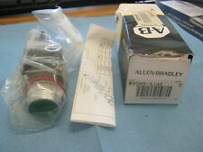 Allen-Bradley: 800MR-A1AK Green Push Button Switch. Series C.  New Old Stock <