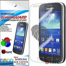 4 Pellicola Opaca Per Samsung Galaxy ACE 3 S7270 S7275 Antiriflesso Antimpronta