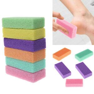 New 1PC Pumice Stone Exfoliate Foot Skin Care Pedicure Scrubber Tool Gift