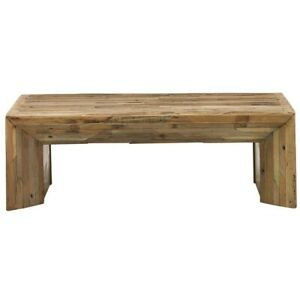 Rectangular Rustic Reclaimed Wood Planks Cocktail Coffee Table (MADE TO ORDER)