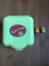 Vintage 1997 Pokemon Figure Tomy Nintendo Polly Pocket Compact Mini Play Set GC