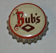 New Listing Bubs Beer Winona Minnesota cork back beer bottle cap