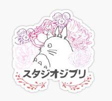 My Neighbor Totoro cartoon Hayao Miyazaki nature . Sticker decal car laptop cute