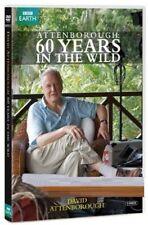 ATTENBOROUGH - 60 YEARS IN THE WILD (2012) -  DVD - David Attenborough - NEW UK
