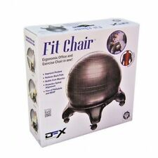 DFX FIT CHAIR Exercise Fitness Ball Yoga Desk Chair Posture Support DYNAFLEX