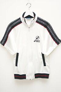 Asics Shirt T-Shirt Jacke Retro Vintage Damen Gr. 42