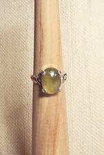 M7CD/ Mali Green Garnet Sterling Silver Ring
